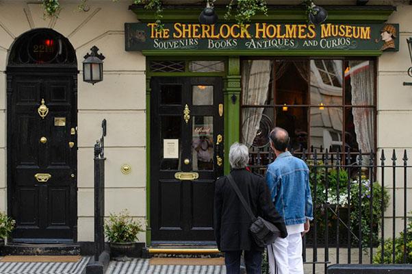 Дом Шерлока Холмса на Бейкер-стрит